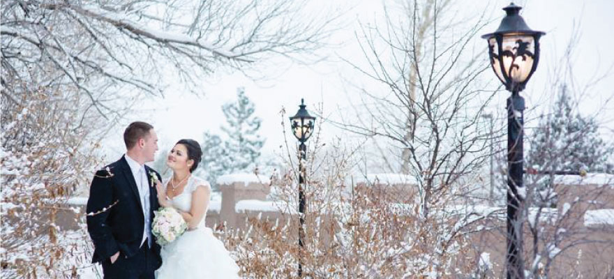 Magical Winter Wonderland Wedding